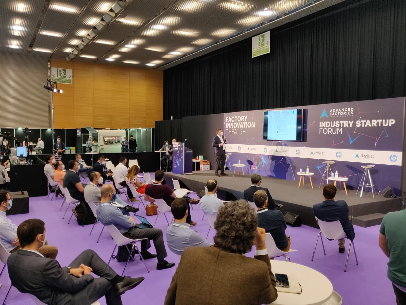 Atlas Tecnológico presenta en Advanced Factories el Top100 de Directivos Colaboradores de la Industria 4.0